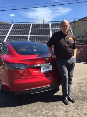 Red Tesla 2